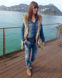 Nice LooK, nice city, nice place!!!! #sansebastian#trendy#glamour#fashion