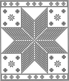 Welcome To Dover Publications Patchwork Quilt Coloring Pages