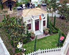 Playhouse Designs and Ideas: Big Dreams for Small Houses: Little Greek House