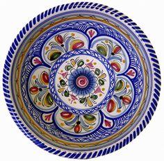 Handmade ceramic bowl from Spain