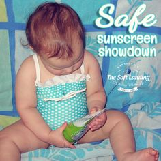 It's a safe sunscreen showdown and Goddess Garden Organics is a top contender!   We've established that we're dealing with safe sunscreens that contain only non-nano zinc and titanium particles. Now when it comes to using natural sunscreens, our next big question is whether Goddess Garden Organics is as easy to apply as some of our long-time favorites.  The simple answer is a resounding YES! #sunscreen #GGOrganics