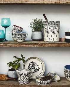 """45.3k Likes, 234 Comments - Anthropologie (@anthropologie) on Instagram: """"From our new arrivals, to your kitchen shelves. #anthrohome #shelfie (link in profile to shop this…"""""""