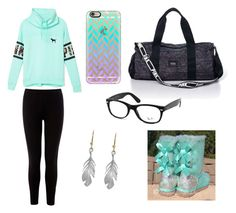 """So long......"" by teresalucas2000 ❤ liked on Polyvore featuring Victoria's Secret PINK, Warehouse, Casetify, Ray-Ban, Annette Ferdinandsen and UGG Australia"