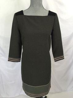 Love this look? Ann Taylor Black Polka Dot Tunic Dress 4 Womens Career Polyester #AnnTaylor #Tunic #WeartoWork
