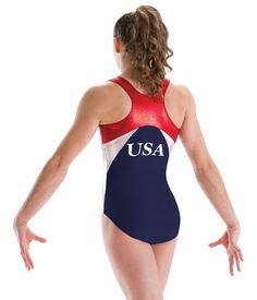 2016 Rio USA Gymnastics Leotard - Girls Leotard - Limited Quantities!