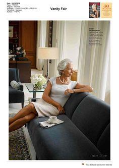 Superbe portrait de Christine Lagarde dans Vanity Fair France qui évoque son passage au Women's Forum Global Meeting 2014 #WF14 #ShesaLeader https://www.facebook.com/womensforum/posts/10152567560932832