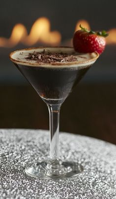 Valentine's Day: Godiva Valentini martini from thebar.com. Cozy up by the fire this Valentine's Day and indulge in some delicious desserts with a @godiva cocktail. Cheers! Mix 1 oz. Godiva® Milk Chocolate Liqueur, 0.5 oz. Godiva® White Chocolate Liqueur, 0.5 oz. Cîroc® Vodka.