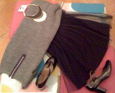tulle skirt vs. wool