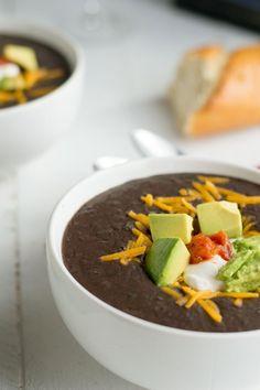 Amazing Black Bean Soup recipe http://livedan330.com/2016/02/14/awesome-black-bean-soup/