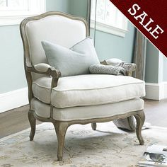 Louisa Bergere Chair | Ballard Designs