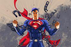 Superman by dvnmyls.deviantart.com on @DeviantArt