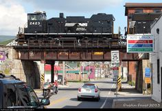 RailPictures.Net Photo: NS 2423 Norfolk Southern EMD MP15E at Altoona, Pennsylvania by Dustin F.
