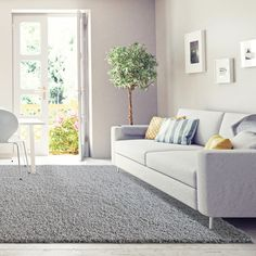 5' x 7' Only $128 ! Buy Now !  New York shag rug & runners - Luxurious and thick area rug. Our soft & thick shaggy rug offers a double textured fiber rug for a modern home decor in smoke grey