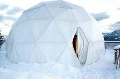 Whitepod - Switzerland A innovative concept that...   Luxury Accommodations