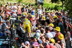 Na 18. etapi dirke po Franciji so se kolesarji pomerili na 17-kilometrskem kronometru.