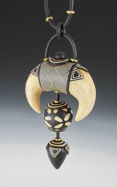 Contemporary Squash Blossom Pendant with Donna Kato #craftartedu