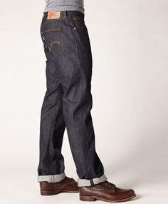 APC New Standard Slim Straight Raw Denim Noir Homme Taille 29