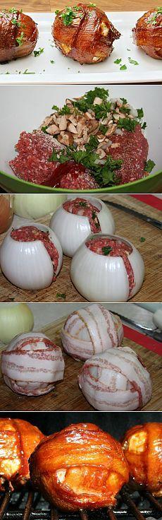Великолепные луково-мясные шарики