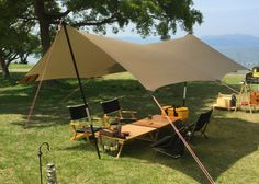 Would you like to go camping? If you would, you may be interested in turning your next camping adventure into a camping vacation. Camping vacations are fun Camping Tarp, Camping Shelters, Camping Set Up, Camping Blanket, Camping Items, Camping Style, Camping Supplies, Diy Camping, Camping Survival