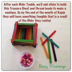 reward-ibadah A great way for them to visualize the concept of rewards ...