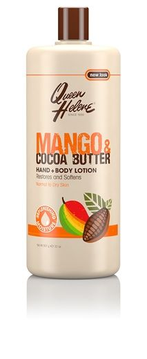 Queen Helene Mango and Cocoa Butter Hand and Body Lotion 32 oz, Multi Beauty Cream, Vegan Beauty, Face Cleanser, Cocoa Butter, Body Lotion, Body Care, Moisturizer, Skin Care, Cocoa