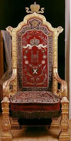 THE THRONE OF THE TSARS OF IMPERIAL RUSSIA
