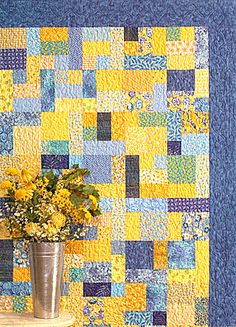 Yellow Brick Road, finished this quilt in Sept 2011, 2nd quilt I have ever made and it was so far the favorite.