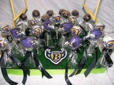 Ravens Cake Pops