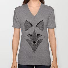 Fox V-neck T-shirt