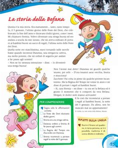 Dieci e lode 5 Italian Lessons, Winter's Tale, Italian Language, Learning Italian, Epiphany, My Teacher, Colouring Pages, Montessori, Storytelling
