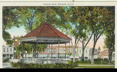 Fairfield Iowa Central Park