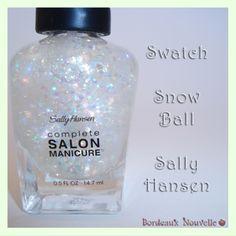 Sally Hansen Snow Ball - Swatch