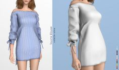 "Louvre Blouse ""My favorite thing ever! I wanted to try to do something different this time and this came out! A ribonned off shoulder dress, I made it as a top, so you can either use it as a dress or..."