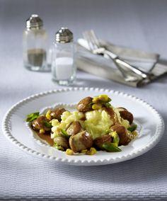 Unser beliebtes Rezept für Würstchen-Bier-Ragout zu Kartoffelpüree und mehr als 55.000 weitere kostenlose Rezepte auf LECKER.de.