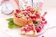 LowCarb Himbeer Puddingkuchen