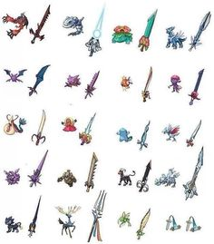 LoL Lameo, Honedge! XD Even the stupid Magikarp is sexier than you! ...my weapon would be Xerneas, even though I chose Pokemon Y!