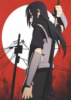 Anime Naruto, Naruto Uzumaki Art, M Anime, Itachi Uchiha, Boruto, Uchiha Wallpaper, Goku E Vegeta, Anime City, Naruto Characters
