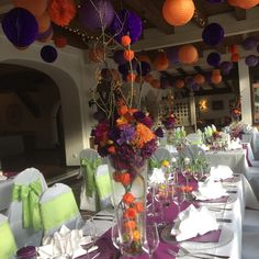 69 Best Autumn Wedding Lilac Orange Images Wedding Locations