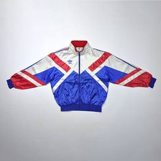 Vintage 90s ADIDAS Jacket / ADIDAS Multi Color / ADIDAS Windbreaker / Adidas Trainer Streetwear Jacket / Old school Swag Color Block Hip Hop