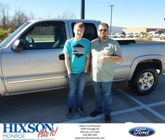Congratulations Brad and Heather on your #Chevrolet #Silverado 1500 from Scott Turner at Hixson Ford of Monroe!  https://deliverymaxx.com/DealerReviews.aspx?DealerCode=M553  #HixsonFordofMonroe