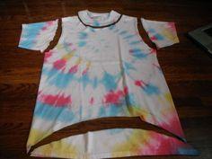 refashioned mens vest | DIY Round UP: 20 DIY T-Shirt ReFashions