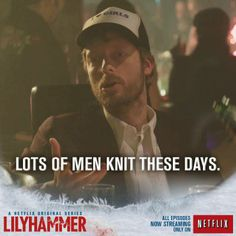 Knitting needles can be lethal tools (Lilyhammer - episode 9)