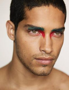 Mens trend Historic Egyptian Male Eye Make-up Hairstly Org A Man's Information to Shopping for Linge Queer Fashion, Androgynous Fashion, Androgynous Makeup, Male Fashion, Make Up Looks, Krieger Make-up, Egyptian Eye Makeup, Warrior Makeup, Art Visage
