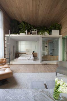Minimal Interior Design Inspiration - Home Design Modern Architecture Design, Interior Architecture, Modern Design, Minimal Home Design, Loft Design, Design Design, Design Hotel, Interior Design Inspiration, Home Interior Design