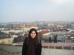 Roma overlooking the Czech Republic