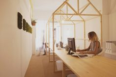 El estudio de la diseñadora Miriam Barrio: como en casa, en ningún sitio
