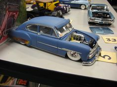 50 Chevy Fleetline nice but think it would look better without the visor