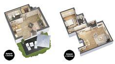 Hell nach außen, hell nach innen. So strahlend, licht und modern wie die Fassade präsentieren sich auch die Wohnungen: Großzügige Fenster sorgen für freundliche, sonnendurchflutete Räume. Mehr Infos unter: http://ziegert-immobilien.de/de/projekte/Gruenauer-Gruen/