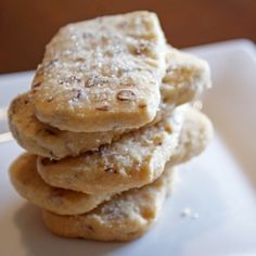 Recipe for delicious buttery Pecan Sandies