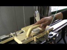 Breimachine breien Knitting Machine, Knits, Youtube, Crafts, Tejidos, Manualidades, Knit Stitches, Handmade Crafts, Tuto Tricot